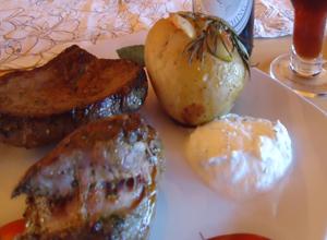 Lammfilet mit Rosmarinkartoffeln