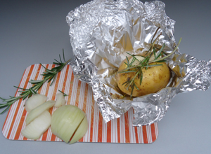Lammfilet mit Rosmarinkartoffeln und Starkbiersoße - Schritt 1