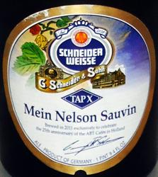 """Schneider Weisse TAPX """"Mein Nelson Sauvin"""" - Flaschendesign"""