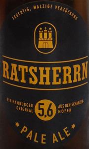 Ratsherrn Pale Ale Etikett