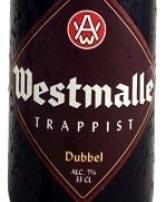 Westmalle Dubbel Flaschendesign