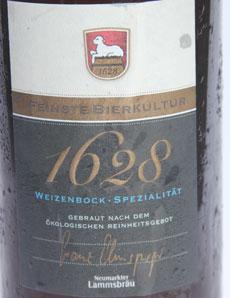 1628 Lammsbräu Etikett