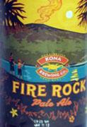 Fire Rock Pale Ale Etikett