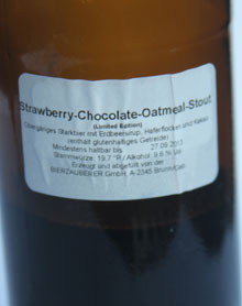 Strawberry-Chocolate-Oatmeal-Stout Etikett