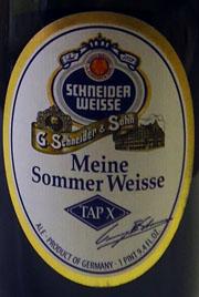 TAPX Meine Sommer Weisse Etikett