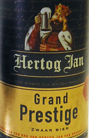 Herzog Jan - Grand Prestige Etikett