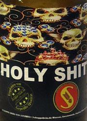 Schoppe Bräu Holy Shit Ale Etikett