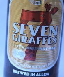Seven Giraffes Etikett