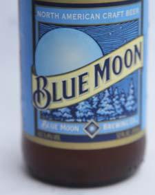 Blue Moon Etikett