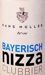 Bayrisch Nizza Clubbier Etikett