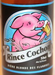 Rince-Cochon-Etikett