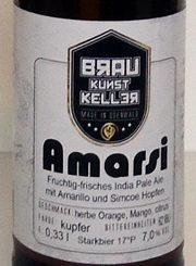 Amarsi-Etikett