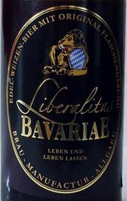Brau-Manufactur Allgäu Liberalitas Bavariae Etikett