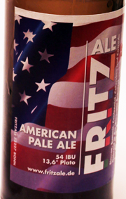 Fritz American Pale Ale Etikett