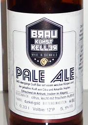 Pale Ale Etikett