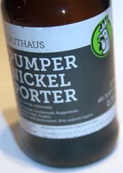 Pumpernickel Etikett