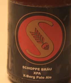 Schoppe Bräu XPA Etikett