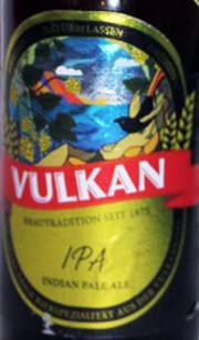 Vulkan IPA Etikett