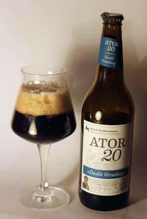 Im Biertest: Riegele Ator20
