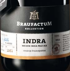 BraufactuM Indra Etiket