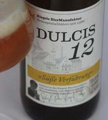 Dulcis12-Etikett