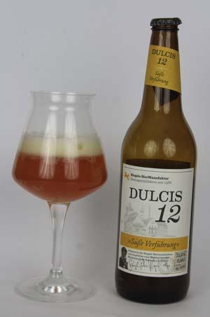 Im Biertest: Riegele Dulcis12