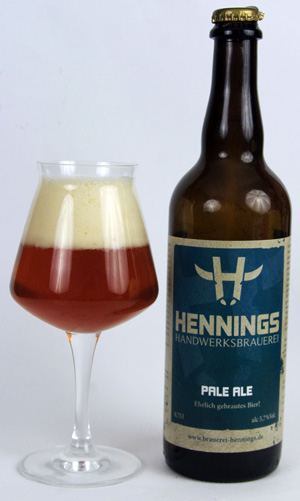 Im Biertest: Hennings Pale Ale