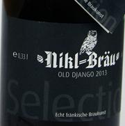 Nikl-Bräu Old Jango 2013 Etikett