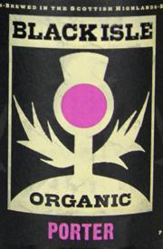 Black Isle Organic Porter Etikett