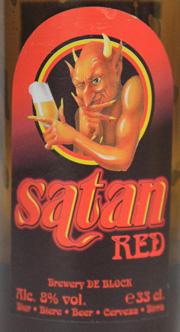 Satan Red Etikett