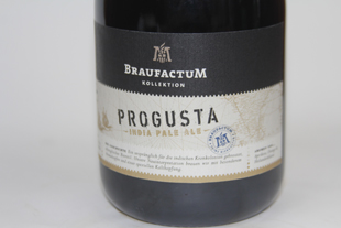 BraufactuM Progusta Etikett