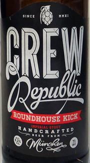 Crew Republic Roundhouse Kick Etikett