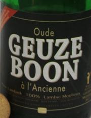 Oude Geuze Boon Etikett
