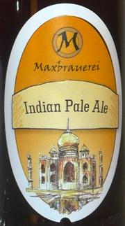 Maxbrauerei India Pale Ale Etikett