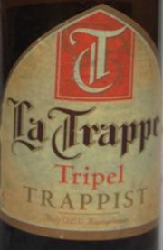 La Trappe Tripel Etikett
