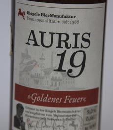 Auris19-Etikett
