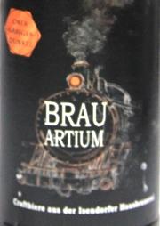 brauartium obergärig dunkel etikett