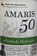 amaris 50 etikett