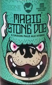 Magic Stone Dog Etikett
