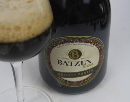 Batzen Bräu Whiskey Porter