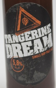 Craftwerk Tangerine Dream Etikett