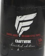 Craftwerk Barrel Aged Etikett