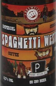 Brewfist Spaghetti Western Etikett