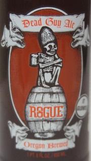 Rogue Dead Guy Ale Etikett