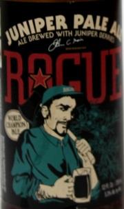 Rogue Juniper Pale Ale Etikett