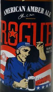 Rogue American Amber Ale Etikett