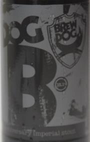 BrewDog Dog B Etikett