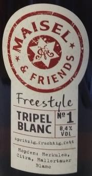 Triple Blanc Etikett