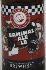 Brewfist Terminal Pale Ale Etikett