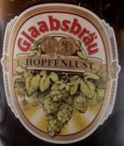 Glaabsbräu Hopfenlust Etikett